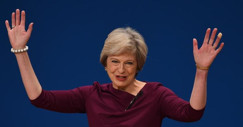 La  premier britannica Theresa May